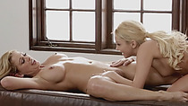 Aaliyah Love and Cherri Deville want pussy satisfaction after a hot massage