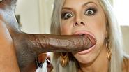 Busty MILF Nina Elle Squirts On Mandingo's BBC