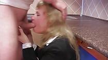 Anal fisting blonde slut