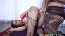 Hot steamy lesbian sex with horny sluts