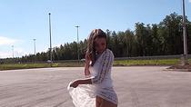 Cute Euro teen slut Foxy Di gets fucked anal and facial
