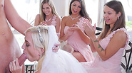 Naughty bridesmaids fucks with the best man