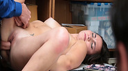 Geneva King gets her pussy fuck infront of her dad