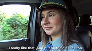 Brunette and hot Latoya the police woman gets fucked by dude