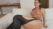 Big ass brunette babe enjoys hard anal fucking