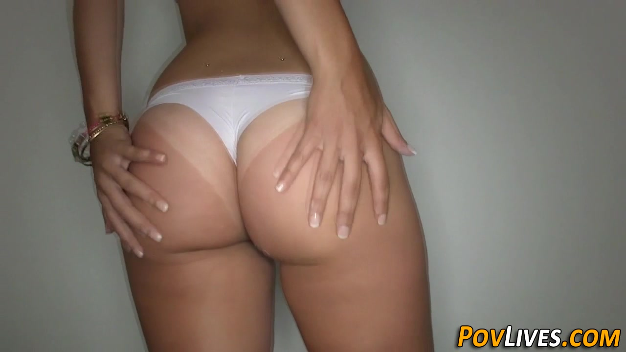 Big White Booty Doggystyle Pov