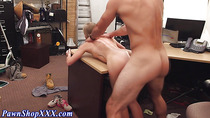 Real amateur gets cumshot