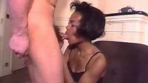 Nasty ebony bitch fucked hard by fake modeling agency owner