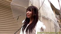 Japanese uniform babe stripping