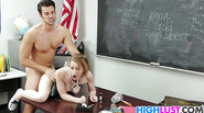 Teen Alexia Gold Gets Drilled On The Desk