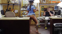 Busty police officer nailed by pawn man