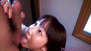 Petite asian schoolgirl closeup bj