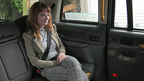 Hottie redhead babe gets pussy fucked in the backseat