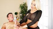 Busty big boobs Britney Amber gives milking pleasure and deepthroat huge cock