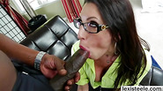 Busty Dava Foxx gets her white pussy deeply banged with big black cock