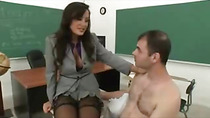 College Teacher MILF Extortion