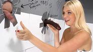 Cute Giselle Palmer Makes A BBC Cum - Gloryhole