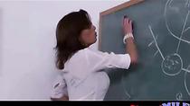 Nerdy Teacher is a Dirty MILF