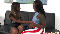 Black teens spank eachothers bigass
