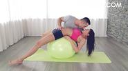 Kitana Lure Anal On Yoga Ball