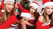 VR PORN- GANG BANG MERRY XXX-MAS AND ONE COCK FOR ALL