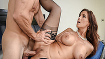 Syren De Mers matured pussy fuck so hard by Johnny Sins