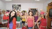 Innocently hot coeds get down for hot random sex in a sorority party