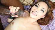Horny babe Kim Blossom getting banged