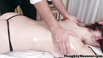 Oily Ryan Smiles gaping asshole massaged with cock