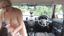 Driving Instructor Katy Jayne Gets Humped