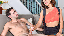 Provocative Izzy Bell wanted to drilled great manhood