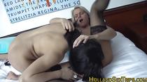 Euro lesbian licks cunt