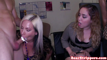 Blowjob amateurs at cfnm office party sucking