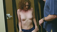 Spoiled slim slut likes sex toys very much