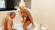 Busty and MILF Lolly Ink gets her pussy fucked by Marcus London