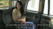 Damn cute girl Carmel gets a warm sex in the backseat