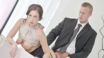 Antonia gets fucked in missionary style