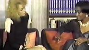 Black and White seveties retro porno tape