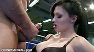 Aletta Ocean went to have some workout with her personal...