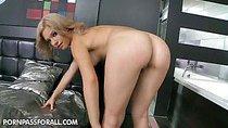 Gorgeous blonde bombshell Bibi Noel has prepared for...