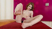 Judy Smile is an expert in feet teasing. She can use her...