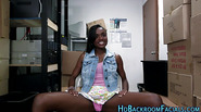 Ebony babes casting fuck