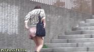 Fetish asian slut pissing