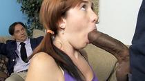 Daughter Ivy Rider gets ravaged by big black dick