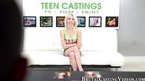 Naive teen at casting call