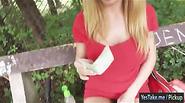 Huge boobs gf Isabella Clark public sex by horny stranger