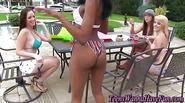 Real ebony teen banged