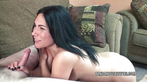 Cleo Leroux takes a dick in her tiny twat