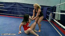 Kathia Nobili is eager to assert her dominance over Angell...