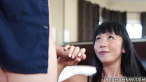 Step mom plays with duddy' comrade and chubby big tit brunette milf Bad and Breakfast